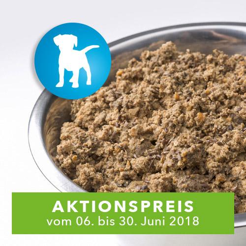 AktivDog – Das natürliche Schweizer Hundefutter in der Sorte Welpenfutter zum Aktionspreis