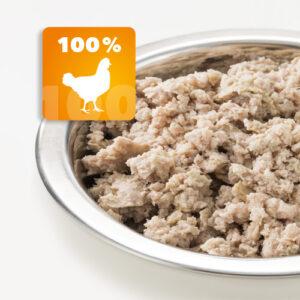 AktivDog – Das natürliche Schweizer Hundefutter in der Sorte 100% Huhn