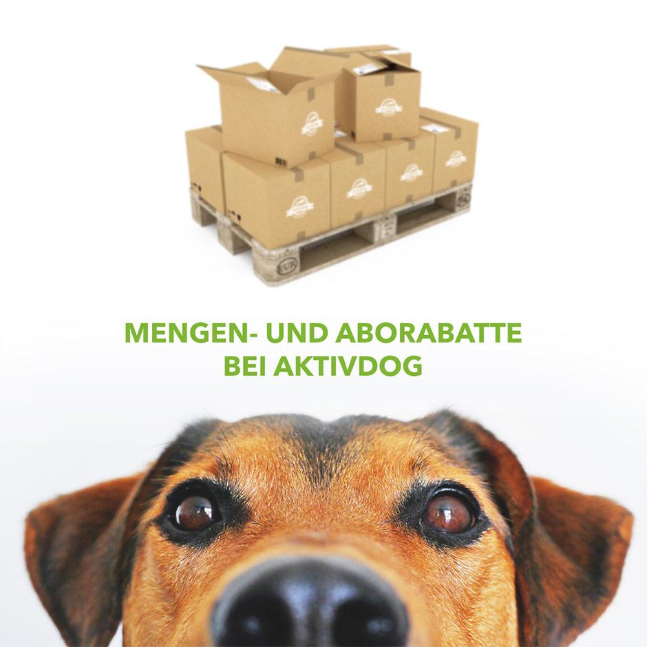 hundefutter rabatte bei aktivdog das nat rliche. Black Bedroom Furniture Sets. Home Design Ideas